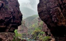 Day 12, Red Rock Gorge, Yuntai Shan, Henan province